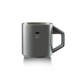 Paul Classic Corner Mug 12oz Gray